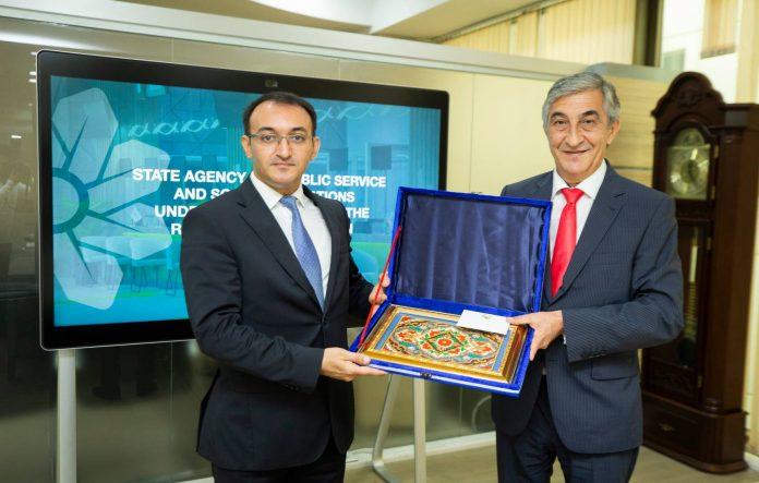 Dövlət Agentliyinin sədri Tacikistan səfiri ilə görüşüb - ASAN xidmət